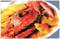 Hương vị độc nhất, ghẹ hải sản Hạ Long