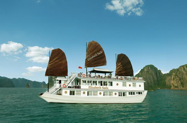 Du Lịch Hạ Long tàu Elizabeth Cruise