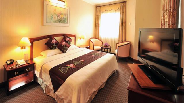 Phòng nghỉ của Khách sạn Heritage Hạ Long