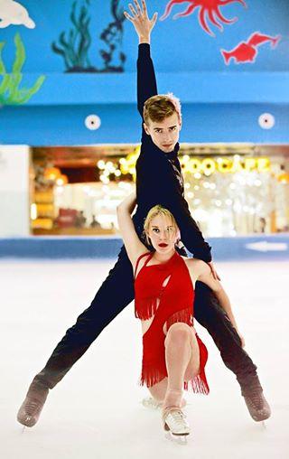 Học trượt băng ở Vinpearlland Ice Rink