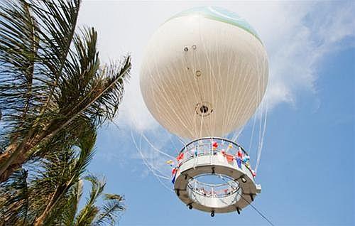 Tháp bay khinh khí cầu ngắm Hạ Long ở độ cao 150m