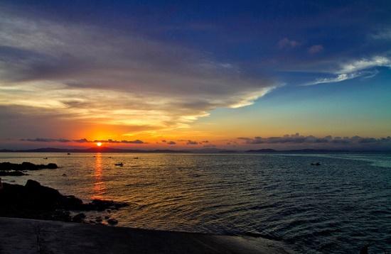 Bình minh tuyệt đẹp trên biển Cô Tô
