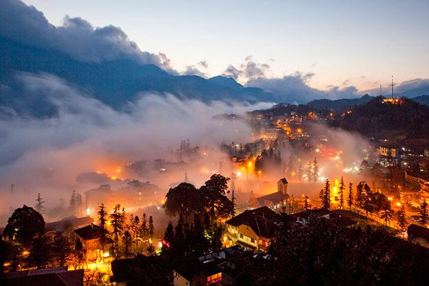 Thị trấn trong mây Sapa