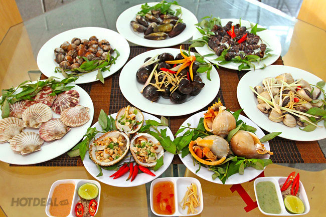 Các món ăn được chế biến từ ốc